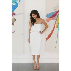 Likely Driggs Dress in White - Best Seller!!